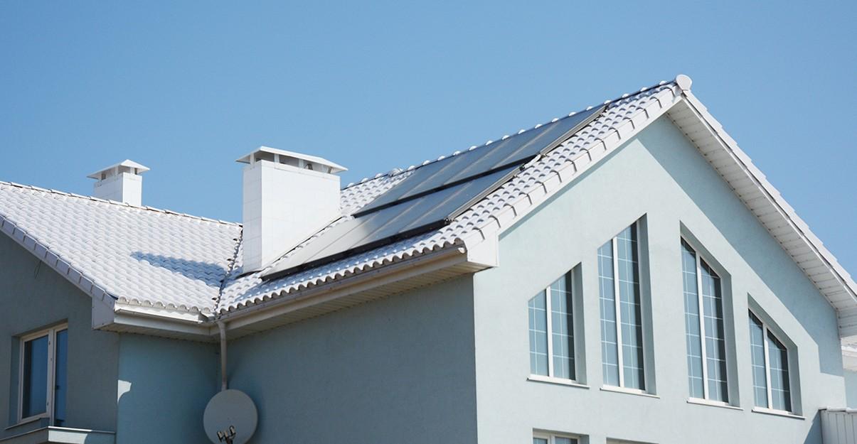 Confort d'étéet cool-roofing