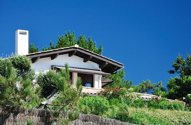 Rénover une maison landaise: la pente du toit