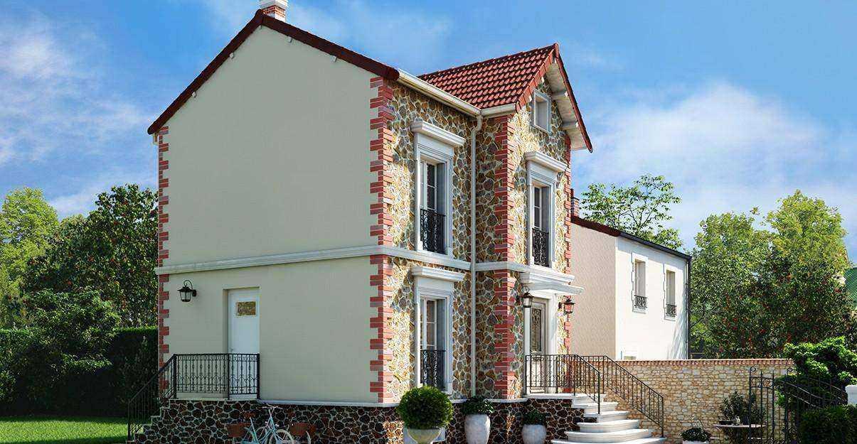 Rénover la façade d'une maison meulière