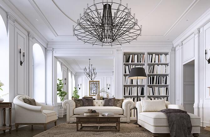 Abaisser un plafond trop haut aménagement