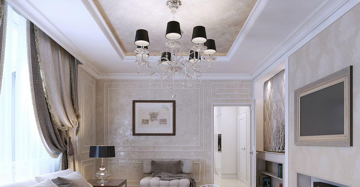 Revêtement pour plafond : stuco