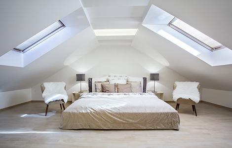 fenêtre de toit et isolation