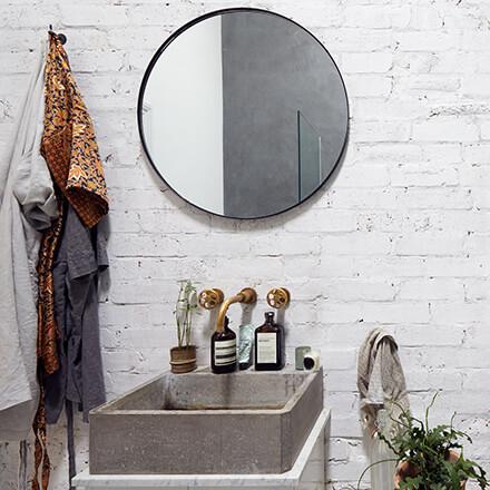 Béton décoration: vasque