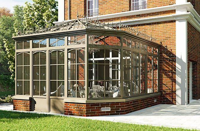 Couvrir une terrasse: la véranda victorienne