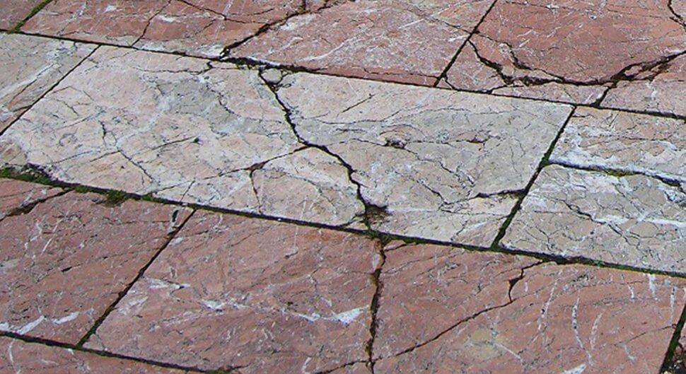 Fissure de terrasse