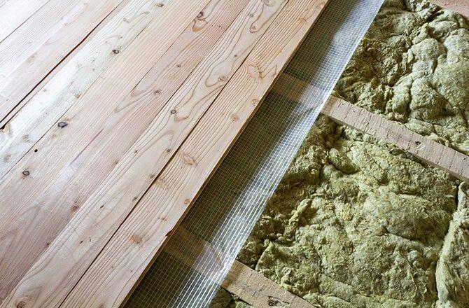 Isolation d'un plancher bois: création d'un surplancher