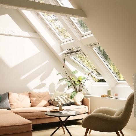 Fenêtre de toit motorisée integra velux