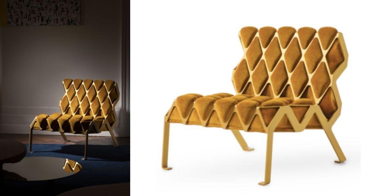 Le fauteuil Matrice de la marque Plumbum