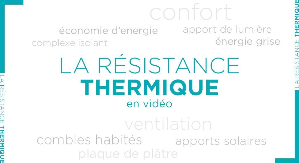 Calculer la résistance thermique