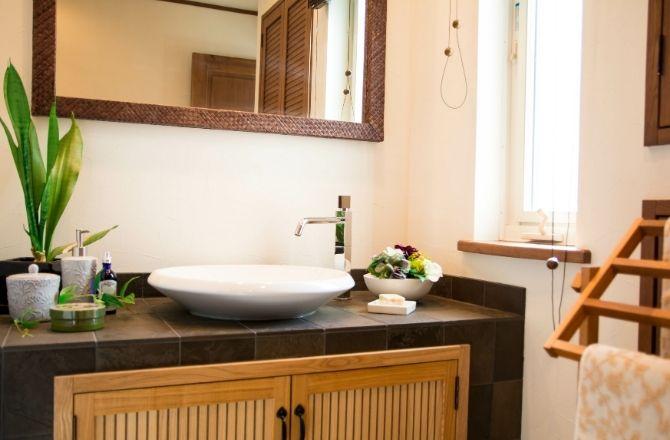 salle de bain japonaise