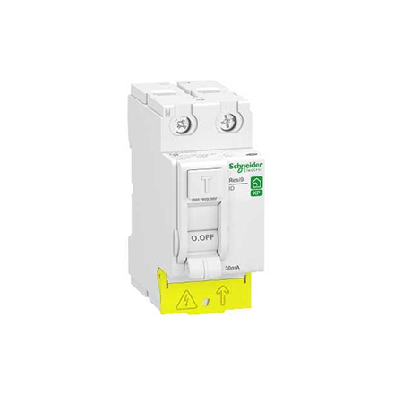Sécurité électrique: interrupteur différentiel