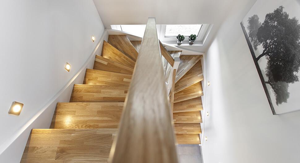 Inspiration déco cage d'escalier