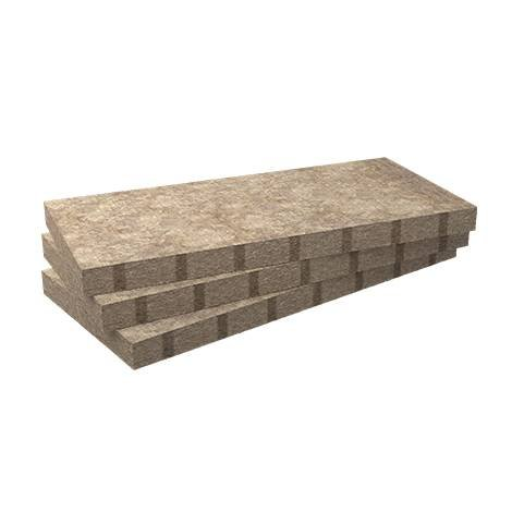 Panneau isolant en laine de roche Rockcomble