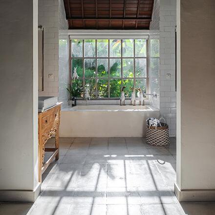 Verrière extérieure salle bain