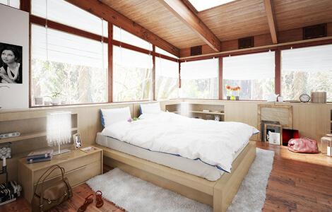 Construire une extension de maison pour une chambre