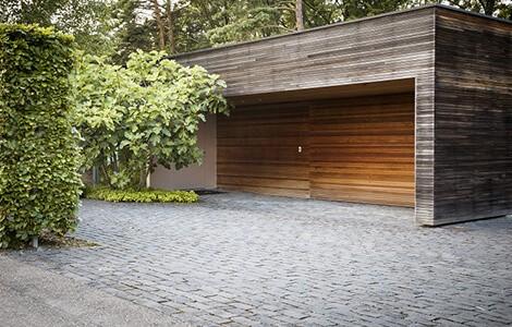 Construire un garage séparé