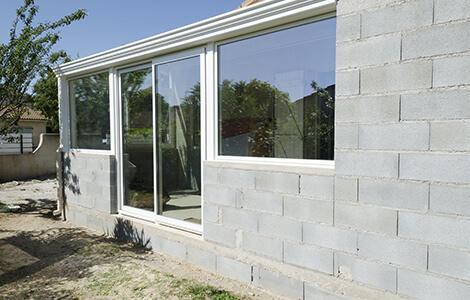Extension latérale maçonnée