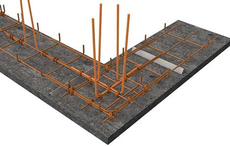 Réalisation des fondations: ferraillage