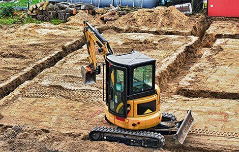 Réalisation des fondations: terrassement