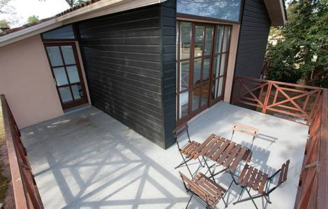 Construire une terrasse en béton