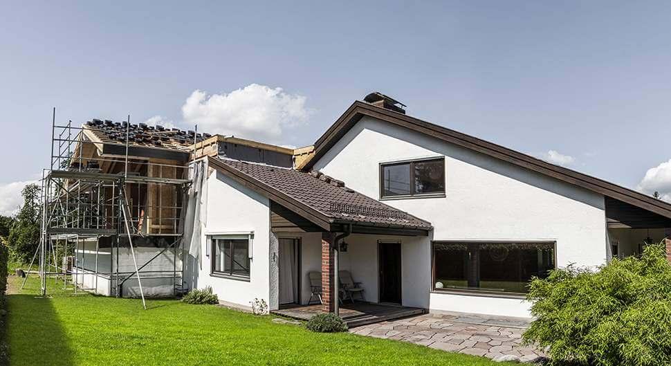 Construire une extension de maison, des mètres carrés en plus