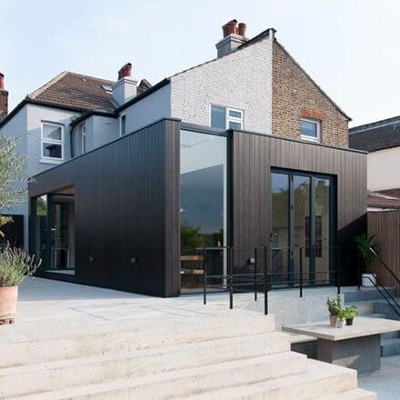 Extension en rupture architecturale
