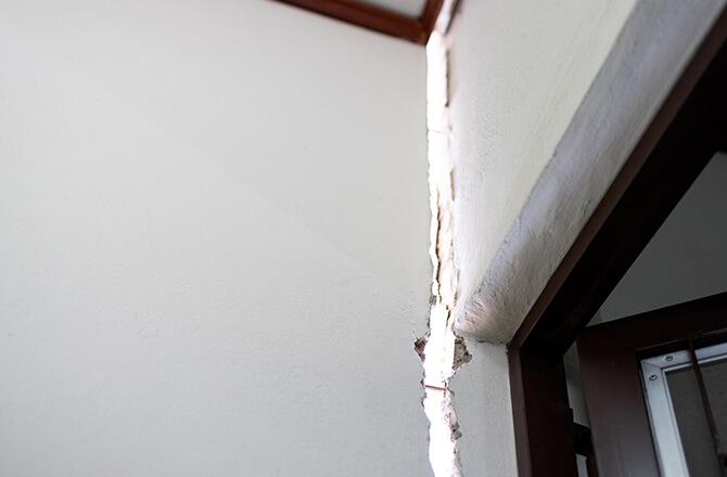 Problème de fondation: désolidarisation des murs