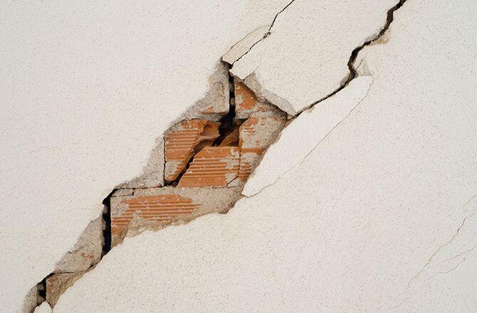 Problème de fondation: fissures