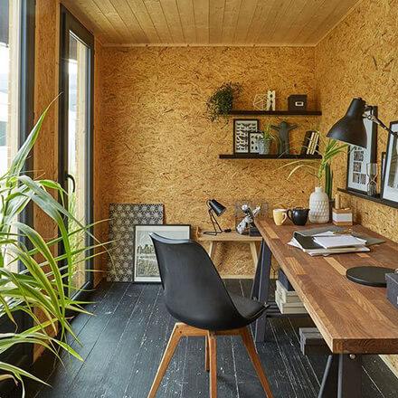 Construire un bureau de jardin en ossature bois