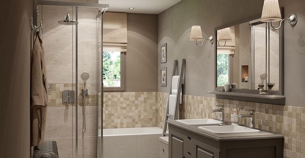 Salle de bain style classique