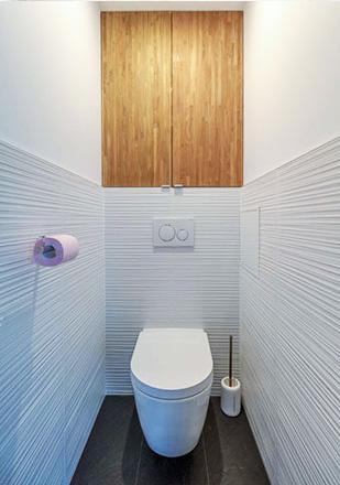 WC par Marius C., plombier agréé La Maison Saint-Gobain
