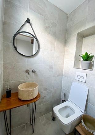 WC par Luciano P., plombier agréé La Maison Saint-Gobain
