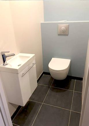 WC par Stephane P., plombier agréé La Maison Saint-Gobain