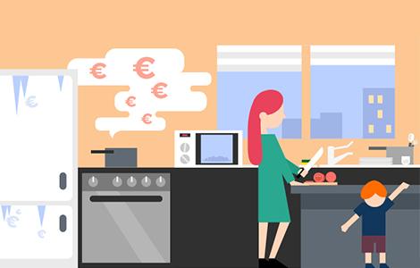 Economies d'énergie dans la cuisine