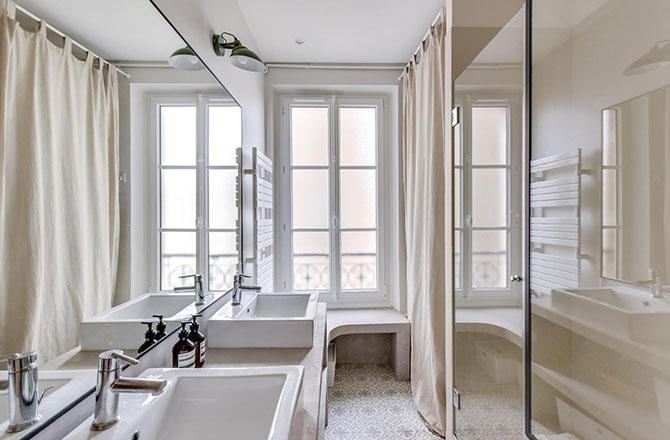 Salle de bain rénovée par Jean-Guillaume B, EGB La Maison Saint-Gobain