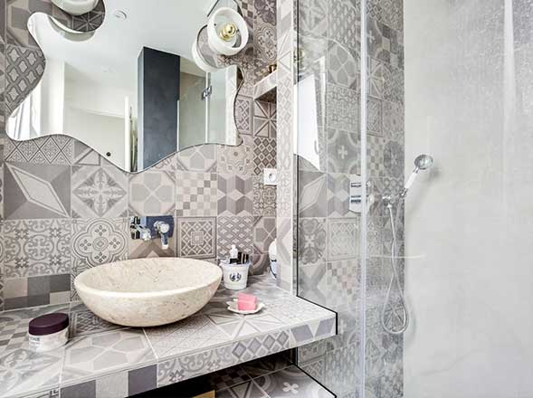 Salle de bain par Jean-Guillaume B., EGB agréée La Maison Saint-Gobain