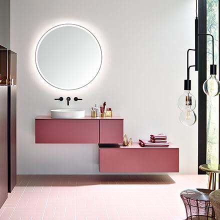 Tendances salle de bains 2021: des compositions colorées