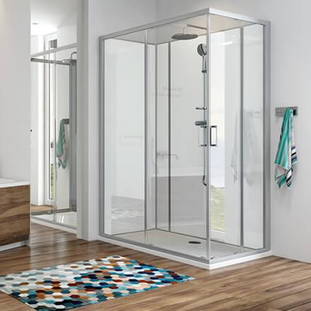 douche spécifique pour remplacement baignoire