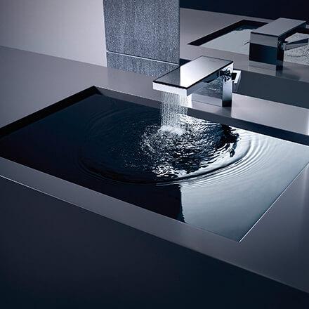 Tendances salles de bains 2021 Mitigeur design
