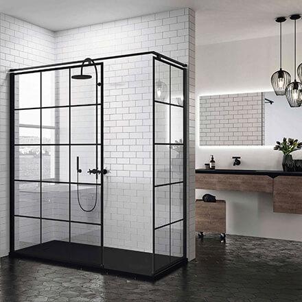 douche verrière intégrale