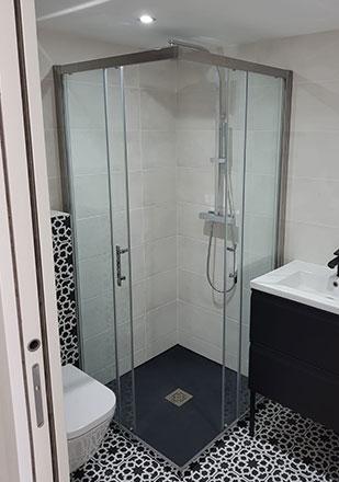 Salle de bain par Daniel R., installateur La Maison Saint-Gobain
