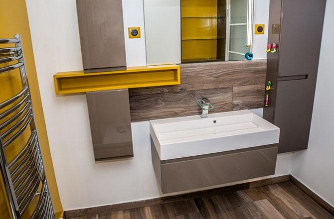 Salle de bain par Michael C., EGB La Maison Saint-Gobain