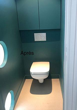 WC par Abdelhafid B., plombier agréé La Maison Saint-Gobain