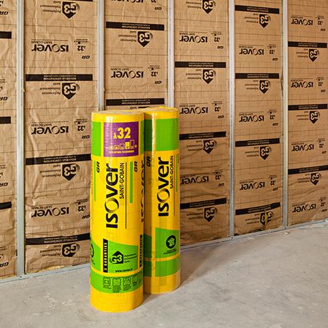 Isolant GR 32 thermique et acoustique Isover