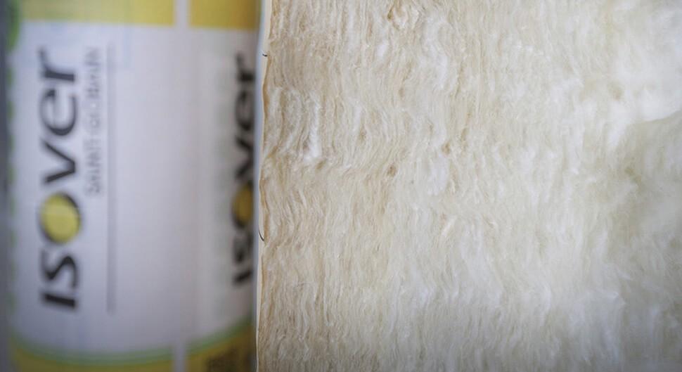 Isoler en laine de verre