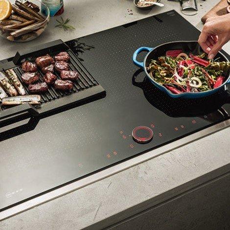 Table induction TwistPadFire® Zone Light Neff