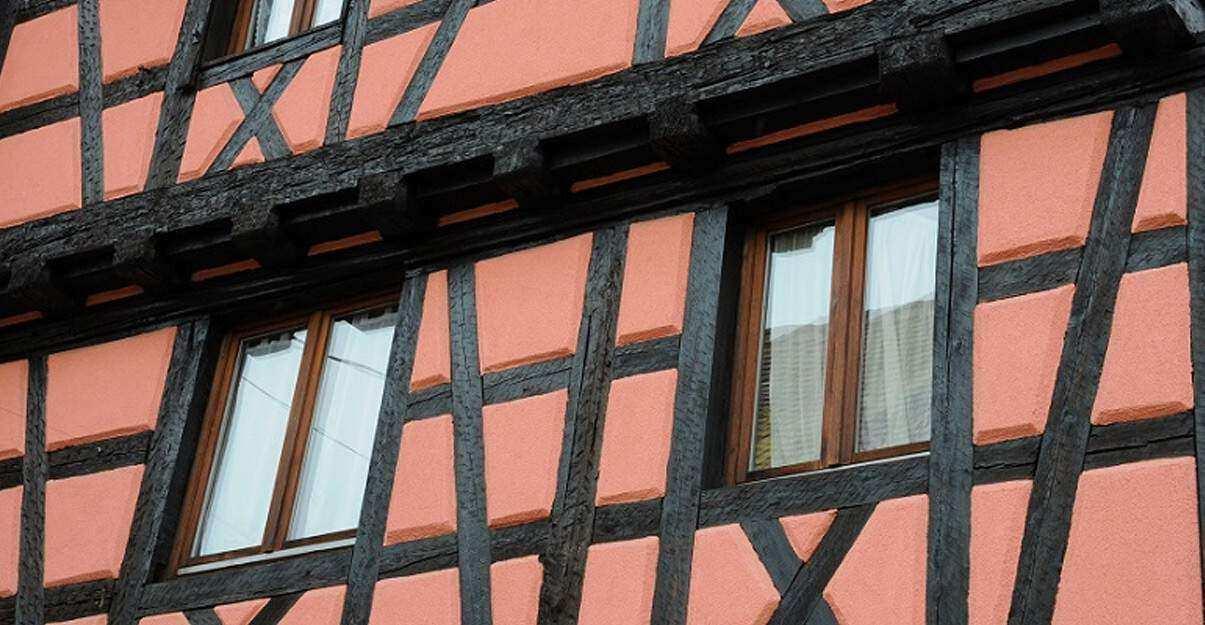 Rénovation d'une façade classée