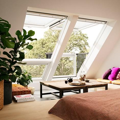 Fenêtre balcon Cabrio Velux