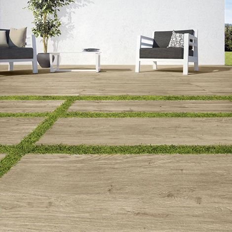 Carrelage de sol effet bois de Ragno