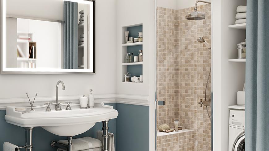 Une salle de bain italienne